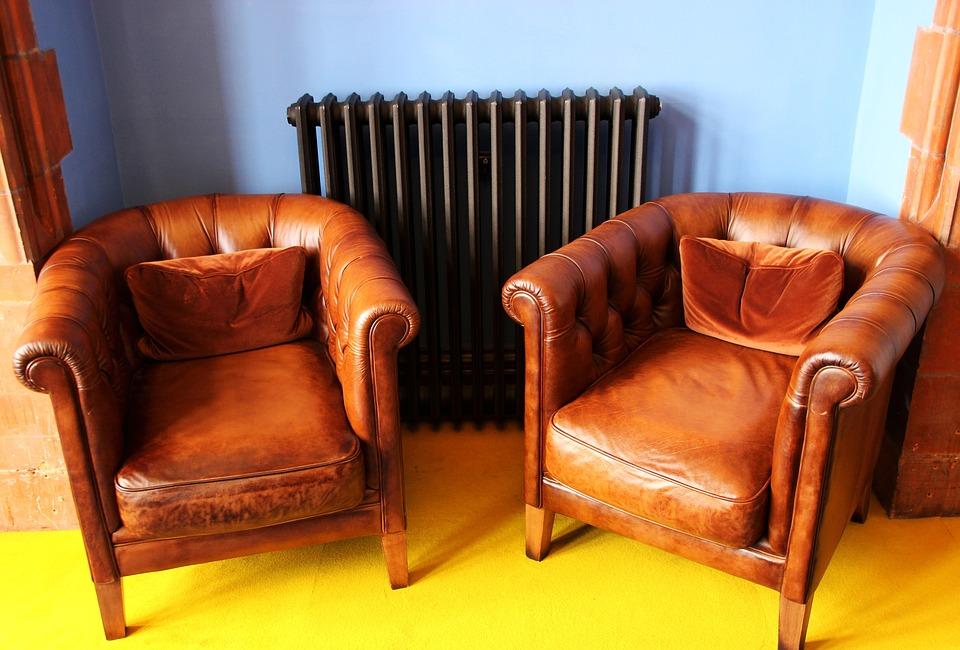 Forny de gamle læderstole